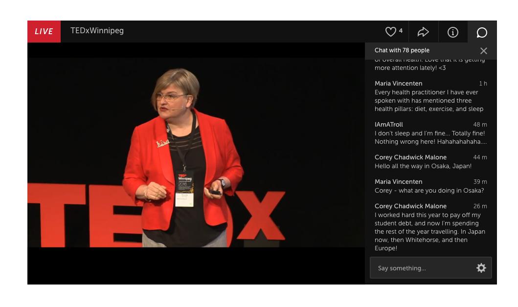 TEDxWinnipeg livestream
