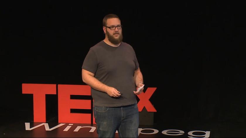 Daniel Blair Bitspace Development TEDxWinnipeg