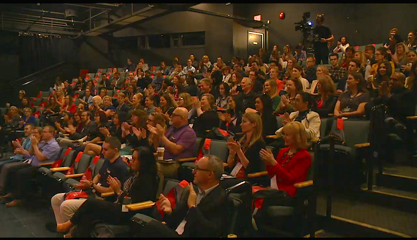 TEDxWinnipeg audience