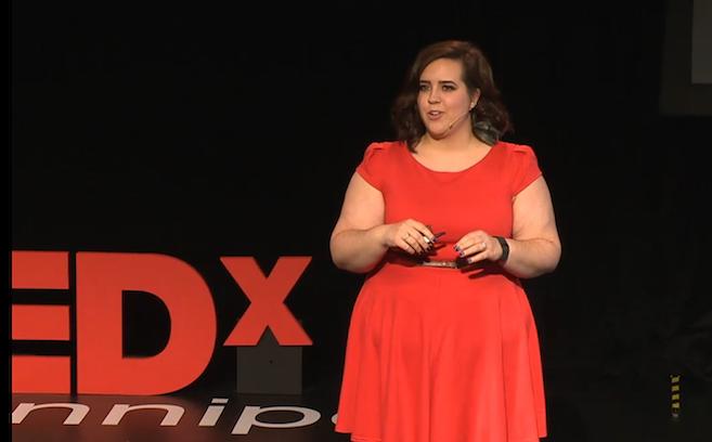 Alexandra Hasenpflug TEDxWinnipeg synesthesia