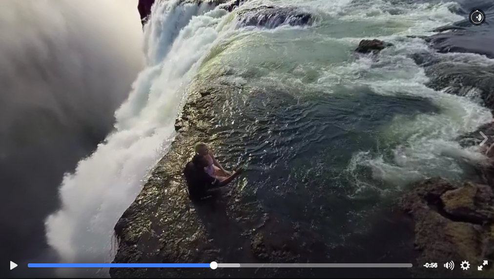 National Geographic Victoria Falls 360 Video