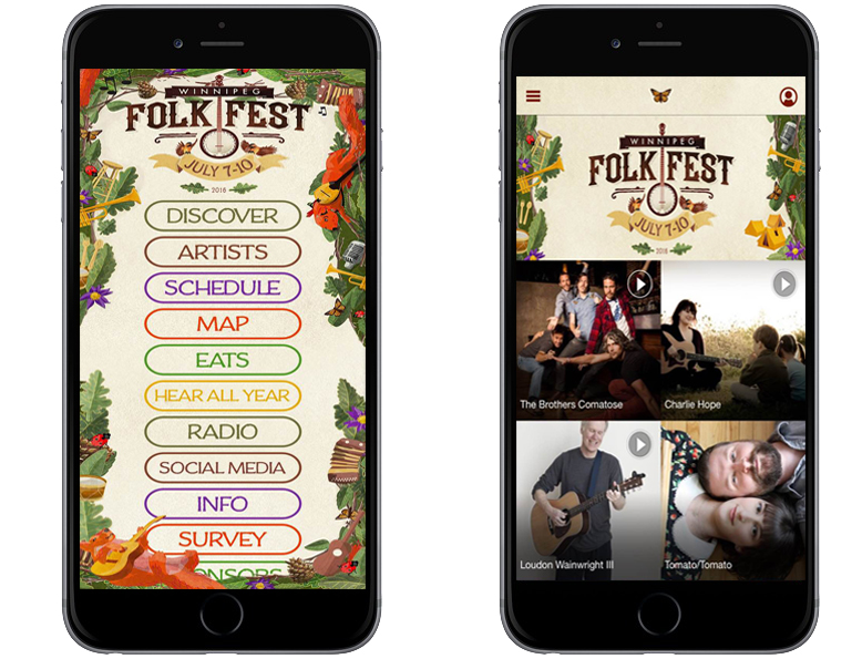 Winnipeg Folk Fest App