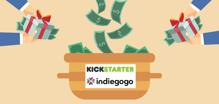 Crowdfunding Kickstarter Indiegogo