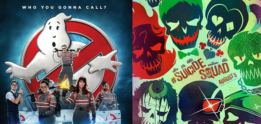 Ghostbusters and Suicide Squad like your office