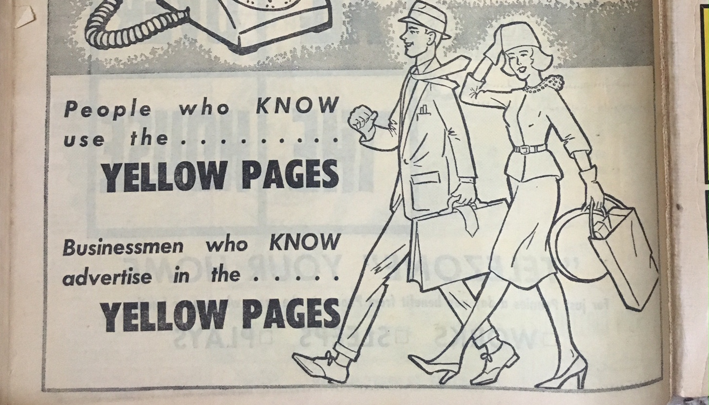 Yellow Pages old-school
