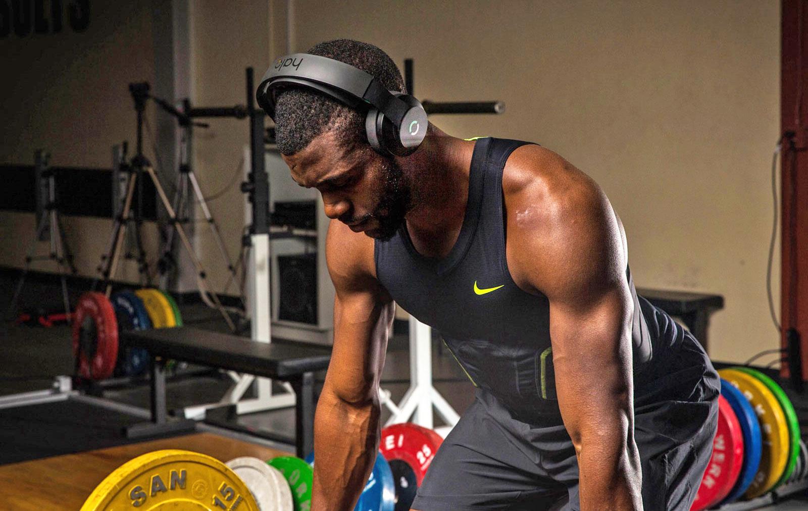 Halo brain stimulation headphones Olympic athletes