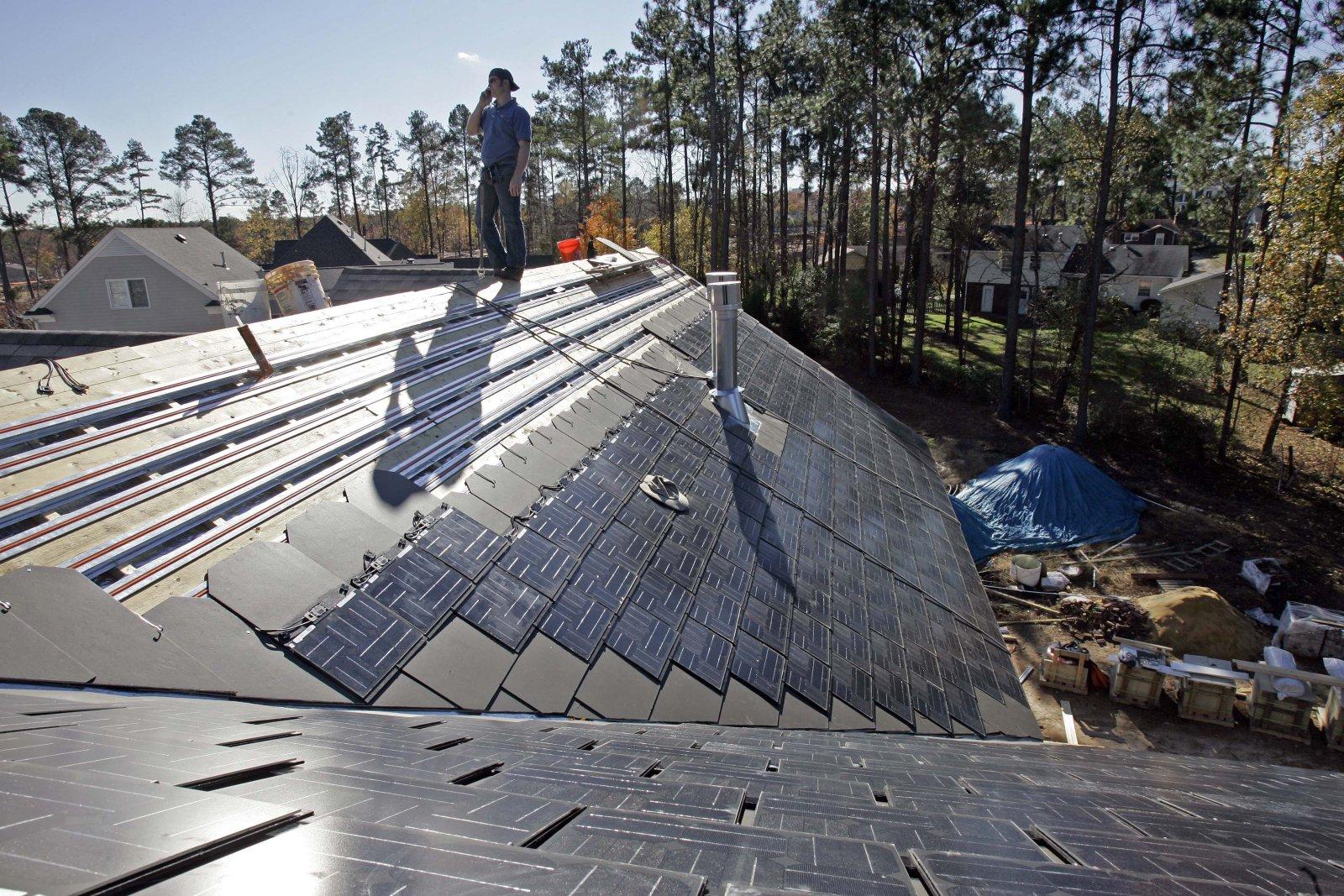 Solarcity roof