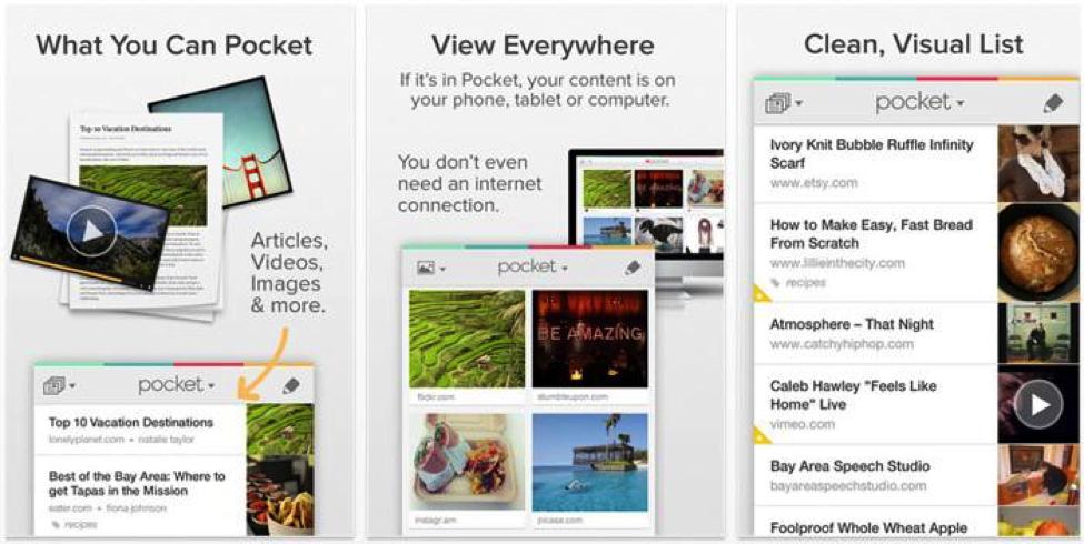 Pocket app