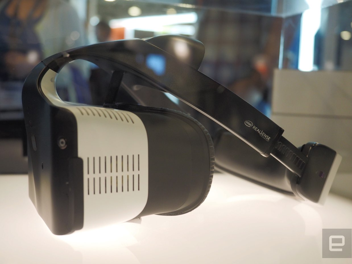 virtual reality headset Intel