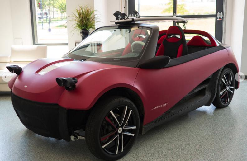 Local Motors 3D printed car Swim