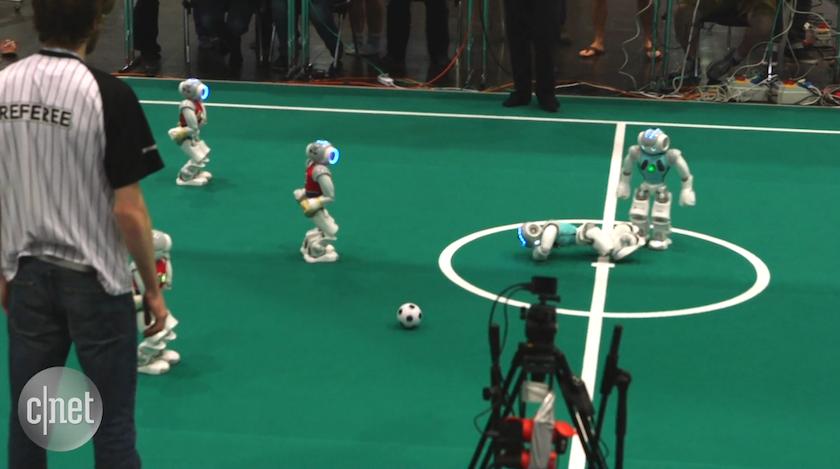 Robot Soccer World Cup 2016