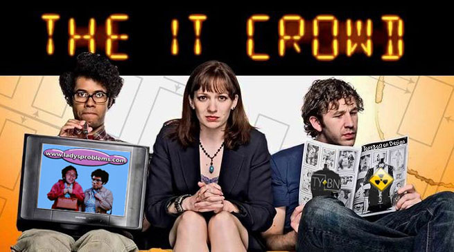 The IT Crowd TV show