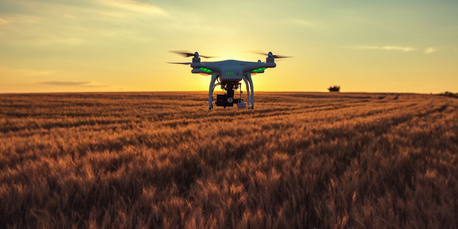 drones farming agriculture