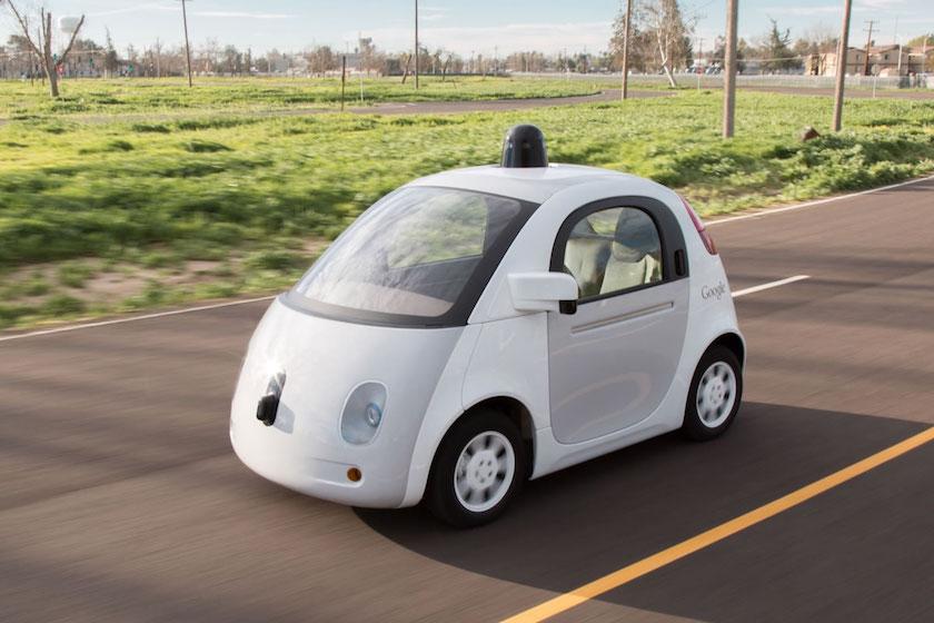 Google autonomous vehicle self-driving car