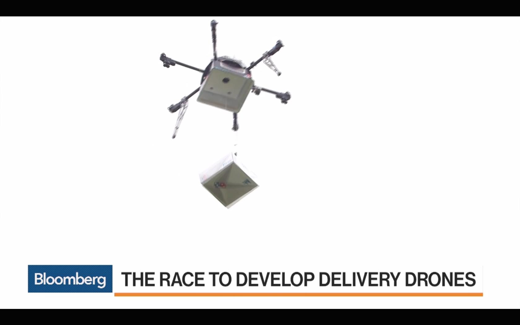 burrito drone delivery