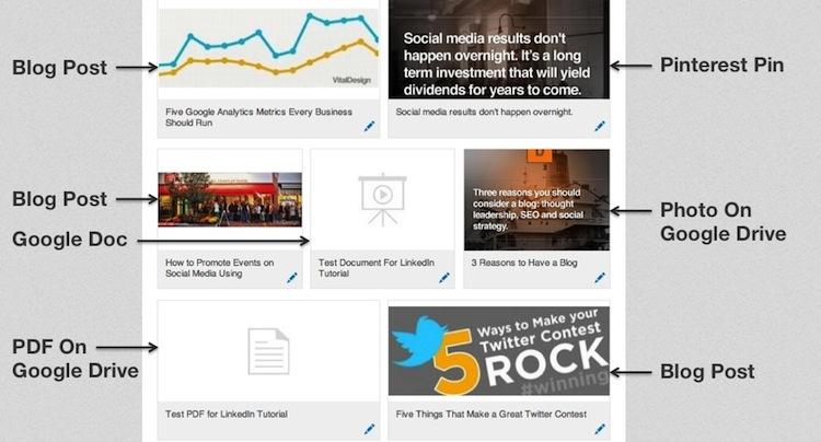 LinkedIn portfolio