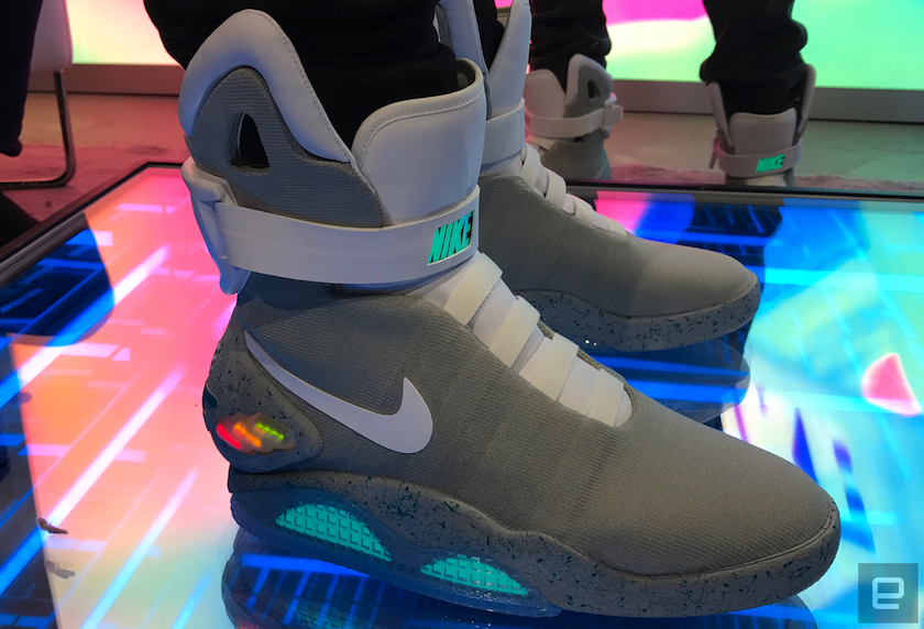 Nike Mag shoes Back to the Future