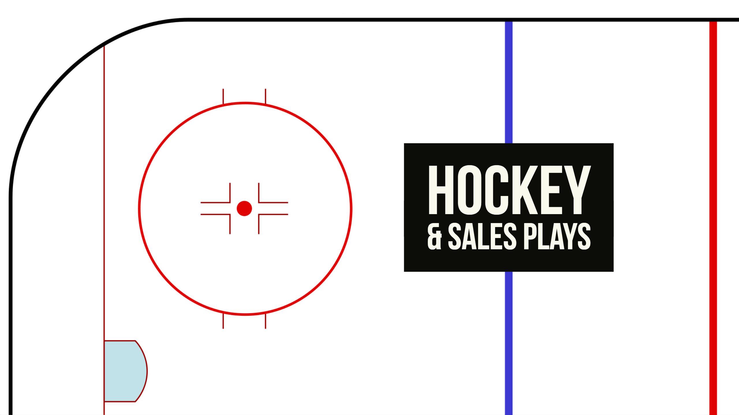 hockey and sales plays