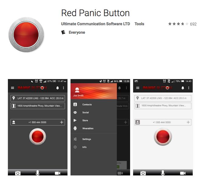 redpanicbutton app