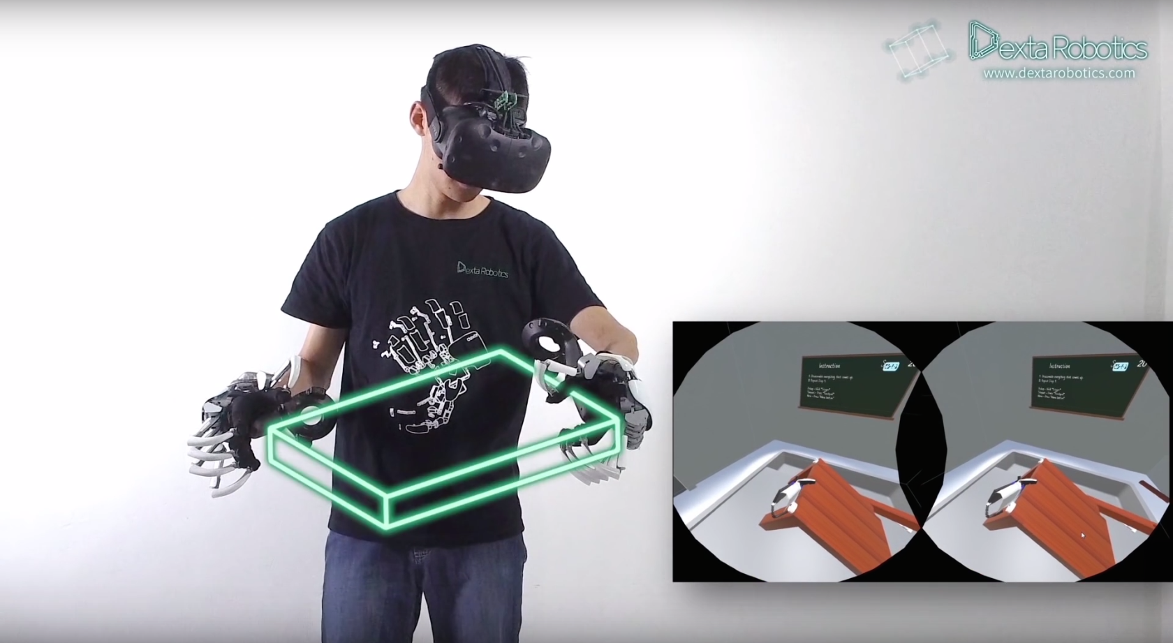 virtual reality touch