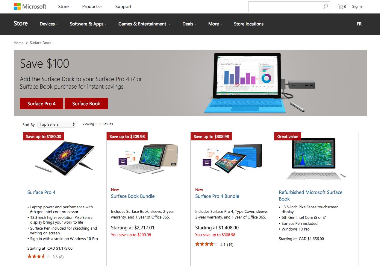 Microsoft Black Friday deals Canada