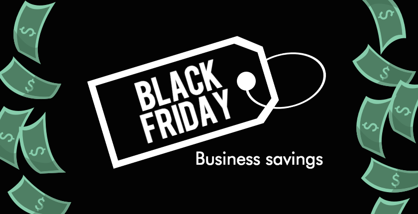 Black Friday deals for business