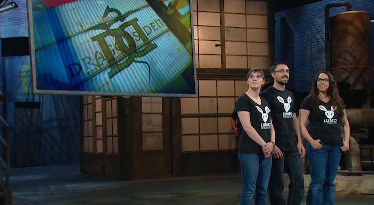 LUMO Interactive on Dragons' Den