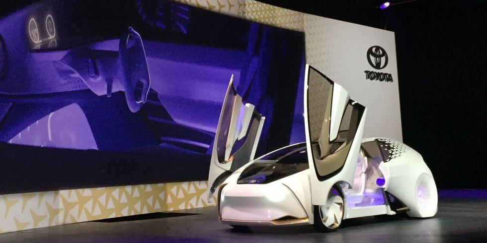 Toyota concept car CES 2017