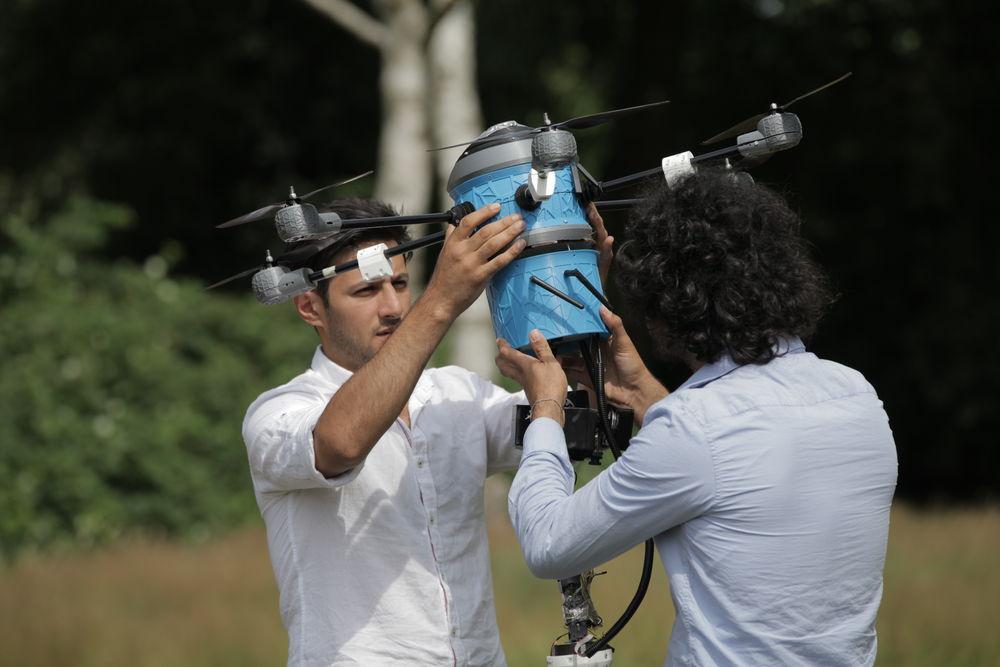 drone mine mine-sweeper