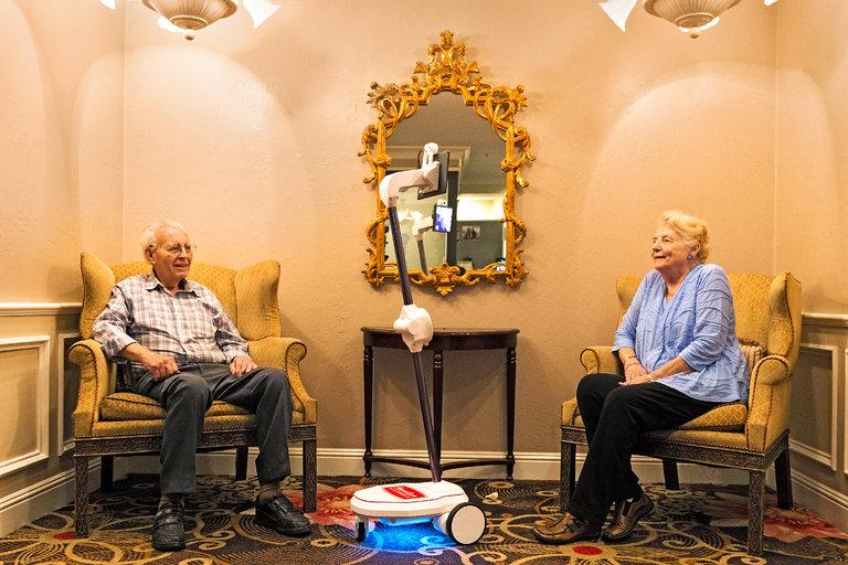 robot for elderly seniors