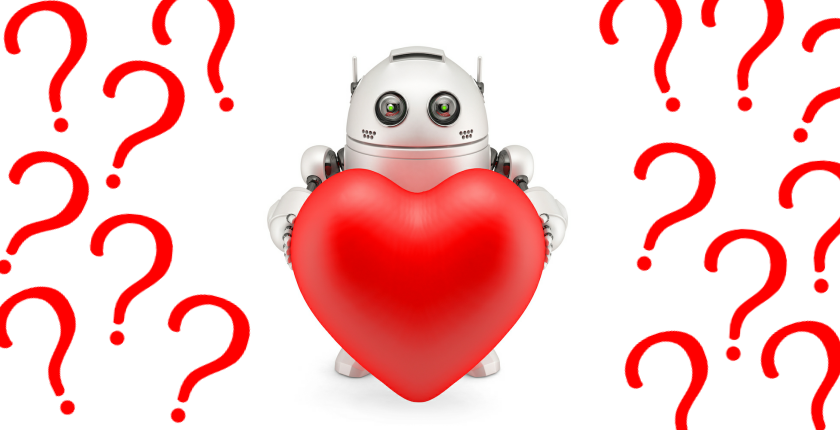 Can robots love