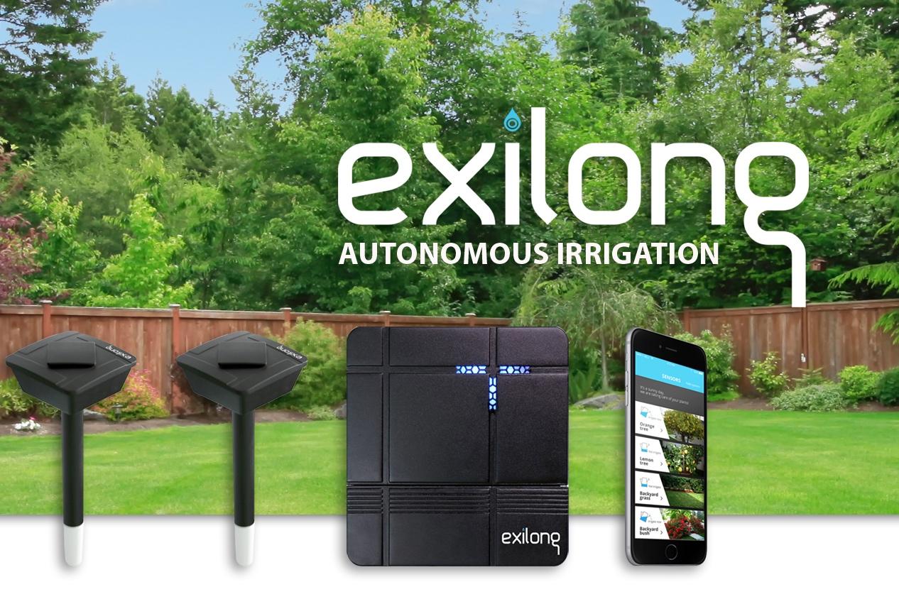 exilong autonomous watering lawn
