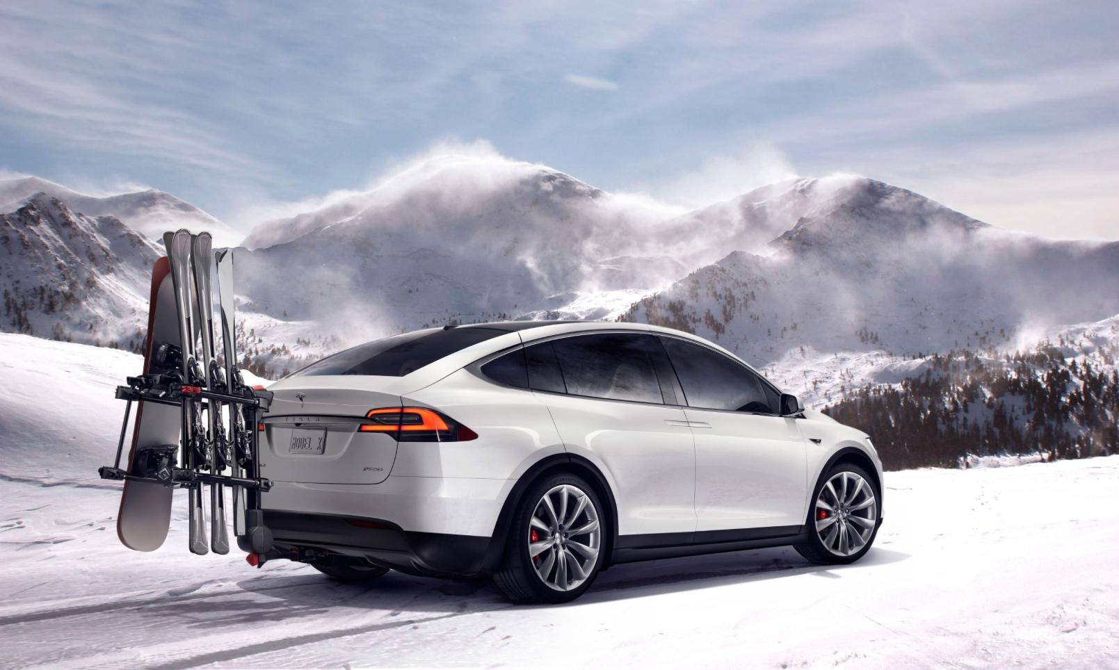 Tesla electric car in Canada