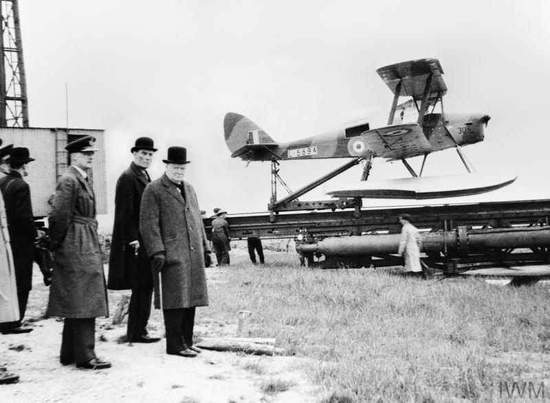 drone Winston Churchill