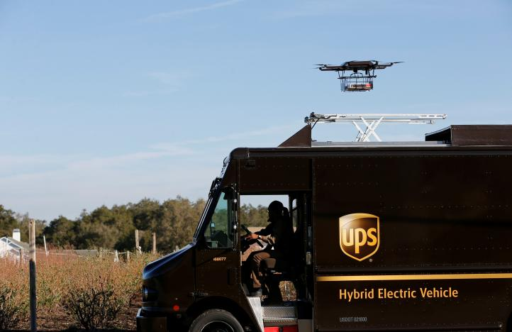 UPS tests drone