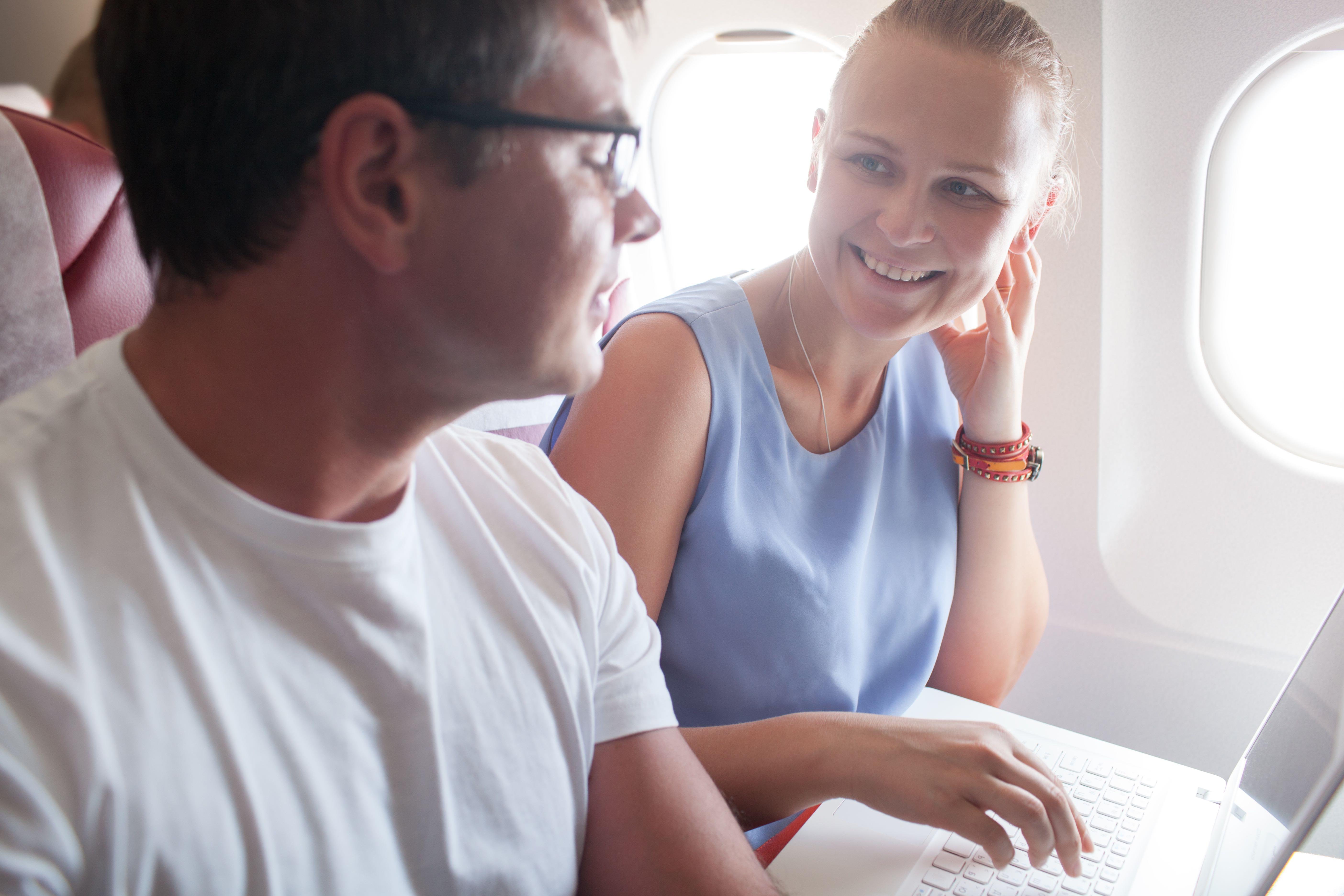 wi-fi on airplane