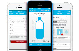 Waterlogged apps for good health