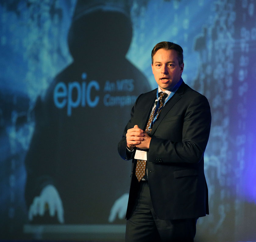Ryan Klassen, vice-president of business solutions for Bell MTS and Epic's general manager