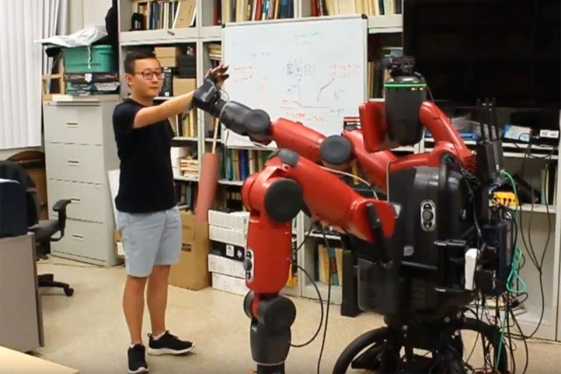 Robot workers learn human etiquette