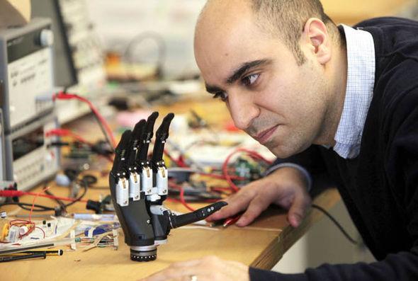 Revolutionary gripping bionic hand