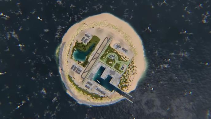 wind power island