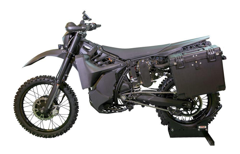 Stealth dirt bike