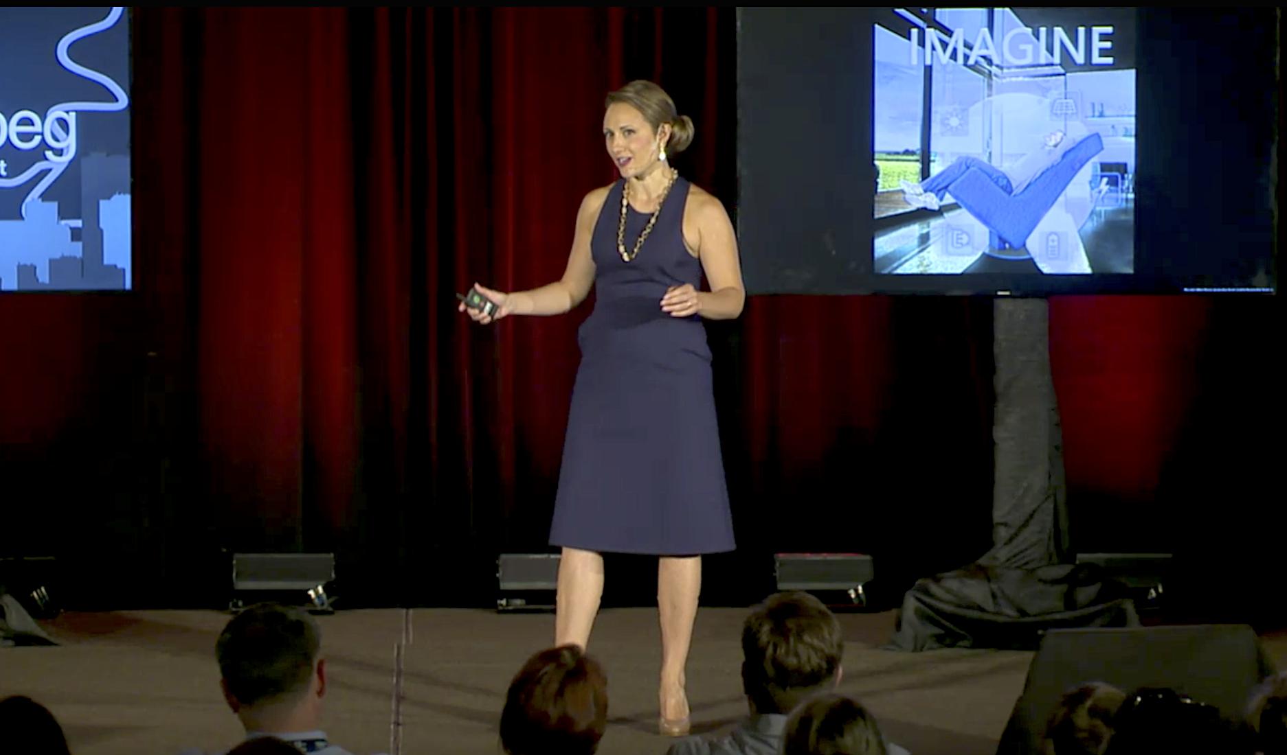 Andrea Kraj TEDxWinnipeg