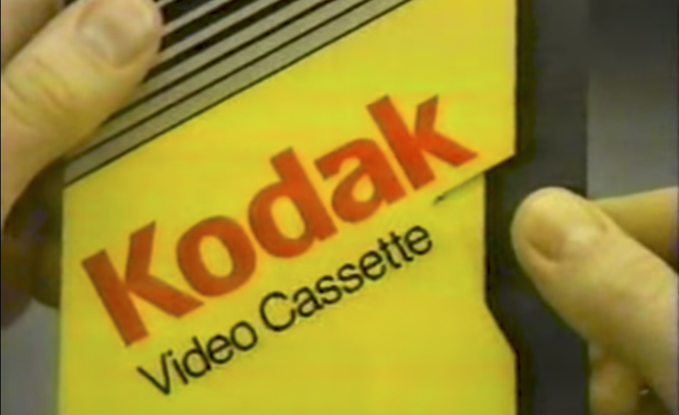 Kodak VHS tape