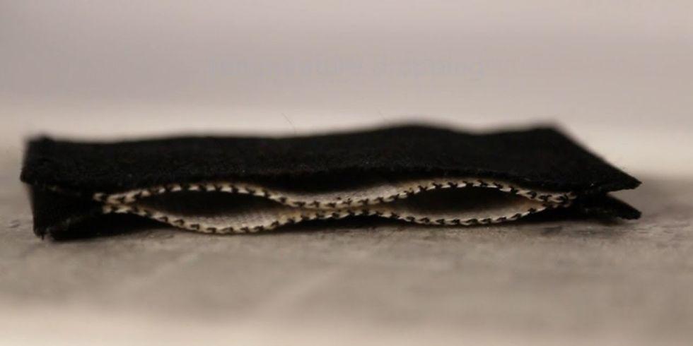 Thermally adaptive fabric