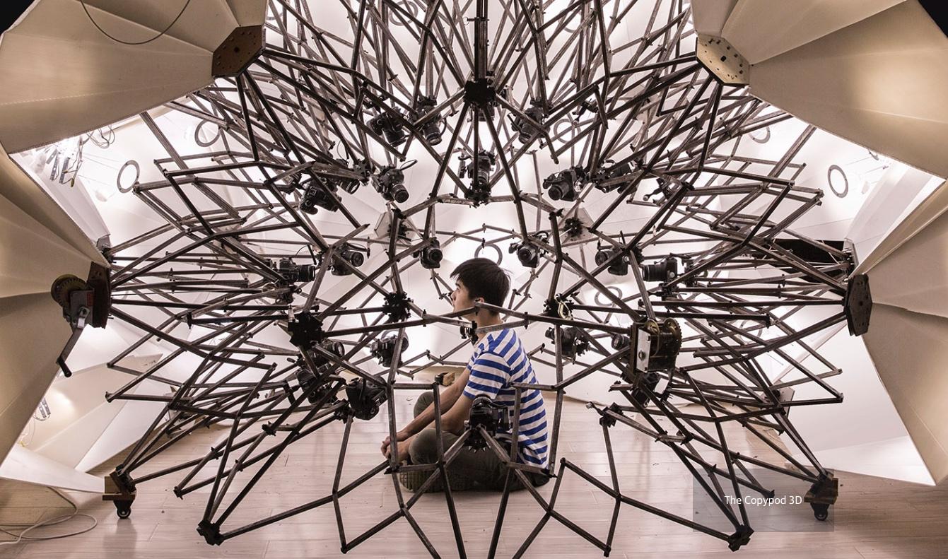Copypod turns humans into 3D