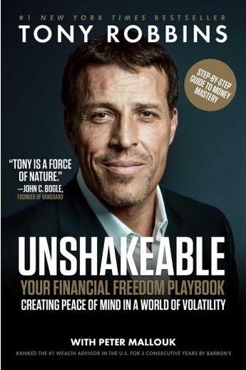"""Unshakeable"" by Tony Robbins"