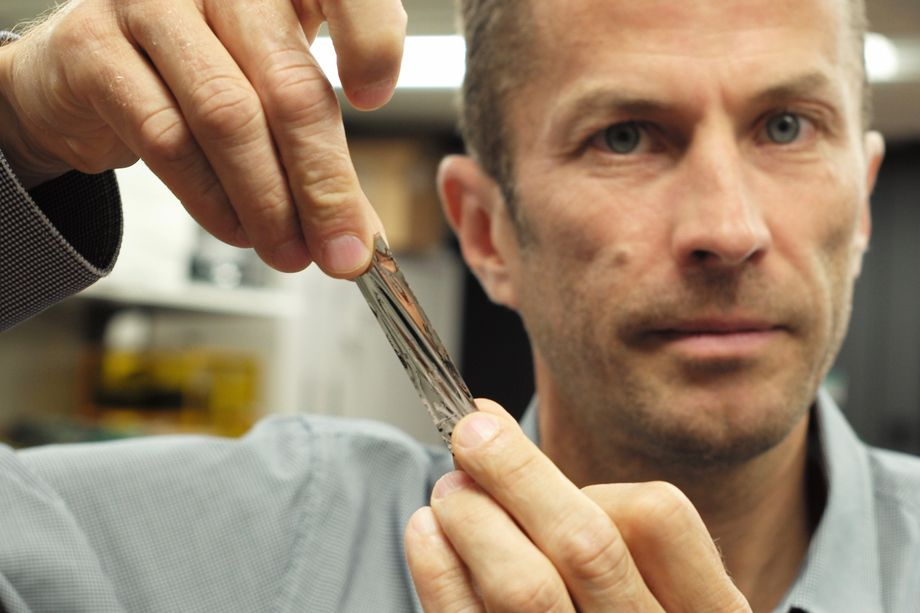 Magnetic tape that stores enormous amounts of data