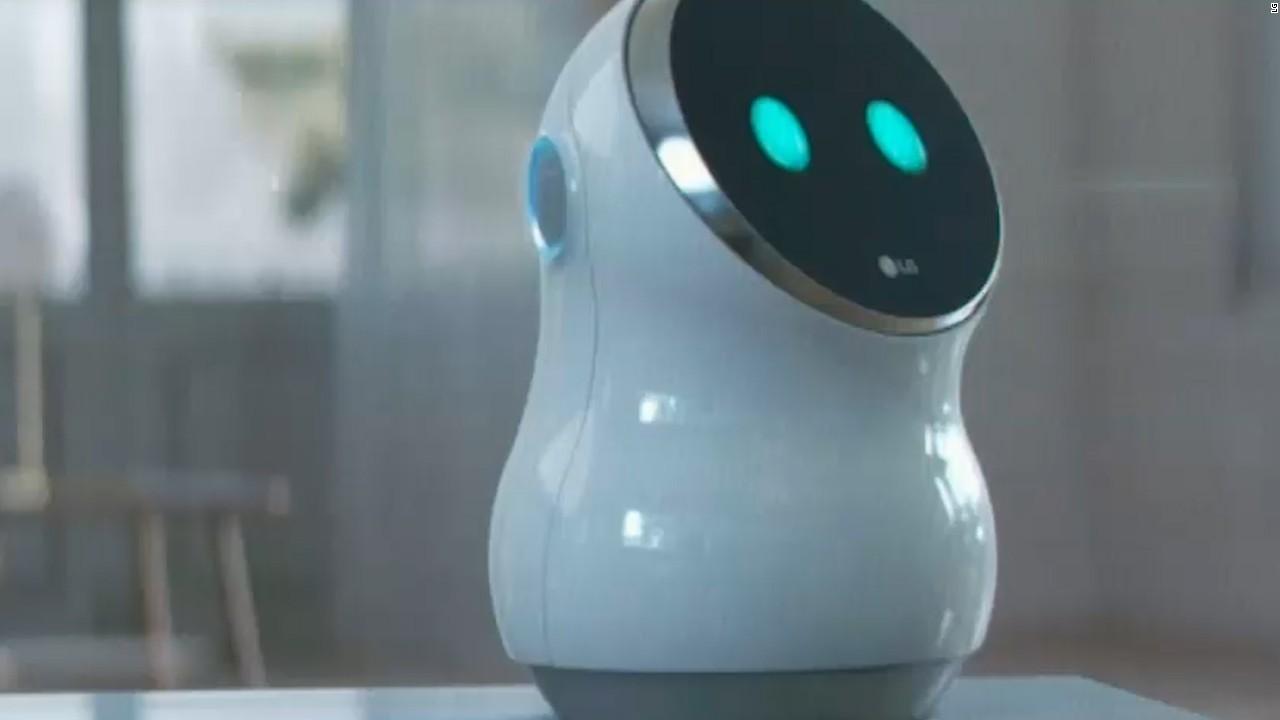 LG's Hub Robot
