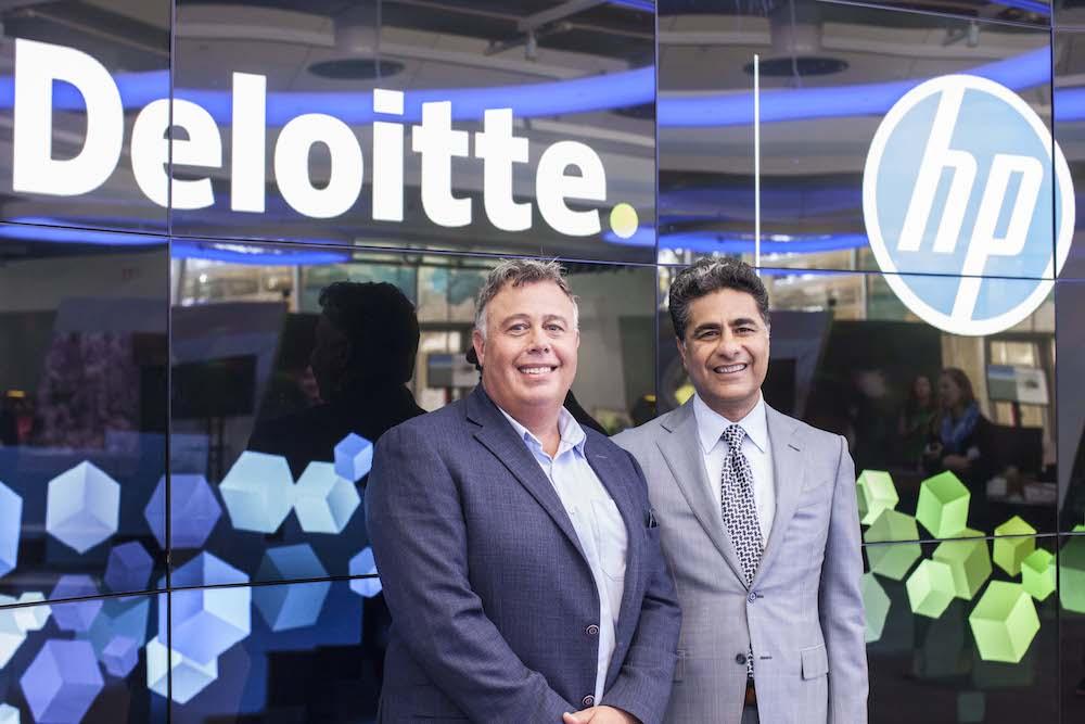 HP Deloitte Partnership